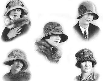 1925 Millinery Book Hat Making Make Flapper Era Hats Roaring 20s Design DIY Prohibition Milliner