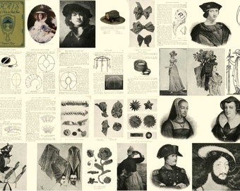 Antique Millinery Lessons Milliner PATTY Hat Making CD Book 1925