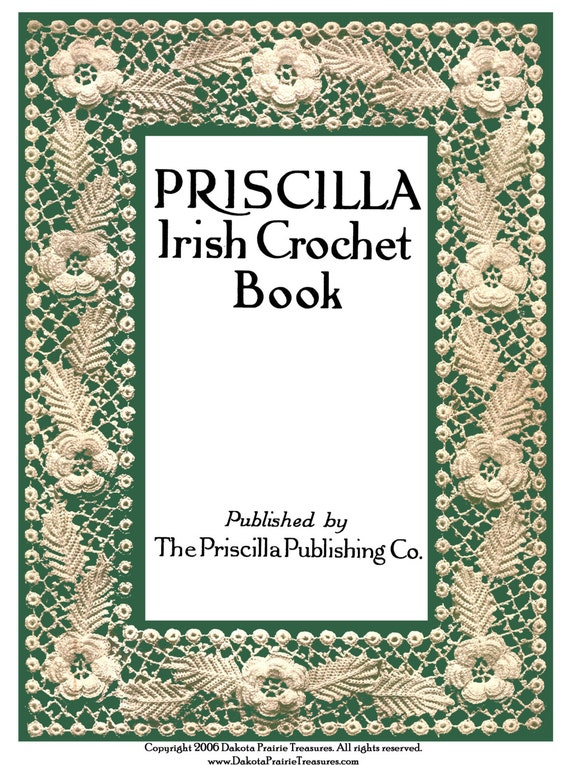 1920 Eduardiana Priscilla irlandés Crochet Lace libro 1er | Etsy