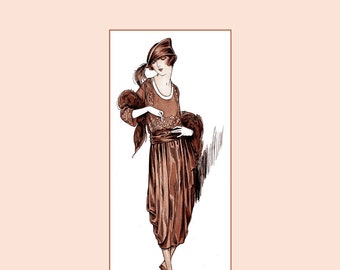 1915 Millinery Book Flapper Hat Making Roaring 20s Care Feathers DIY Milliner