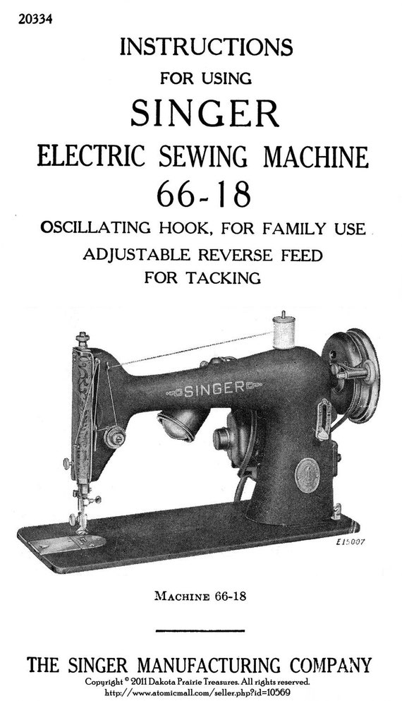 C40 Singer Sewing Machine Manual 4040 Book Attachments Use Etsy Awesome How To Use A Sewing Machine Book