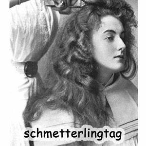 Edwardian Gloves, Handbags, Hair Combs, Wigs 1915 Gibson Girl Titanic Era Hair Style Book Marcel Finger Waves DIT Wave Hair Hairstyles $18.39 AT vintagedancer.com