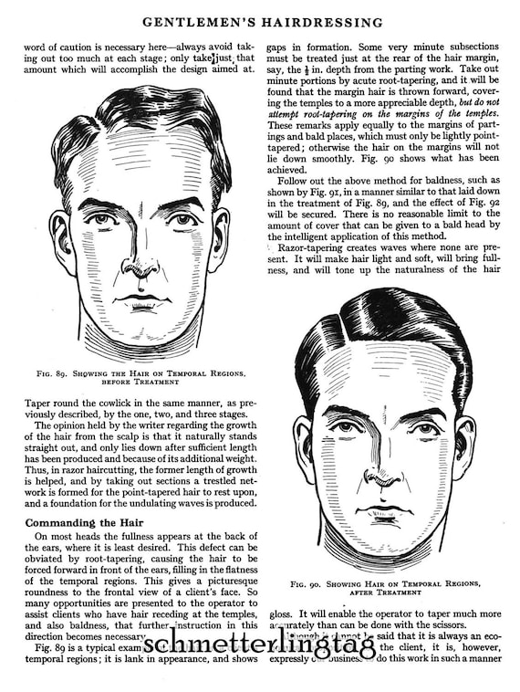 1920s Mens Hats & Caps | Gatsby, Peaky Blinders, Gangster 1930 Prohibition Era Hairstyle Book Mens Children Flapper Hairstyles DIY Beautician $14.99 AT vintagedancer.com