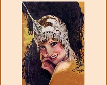 1931 Flapper Era MILLINERY Book How to Make Roaring 20s Felt Fabric Hats Block Milliner DIY Guide