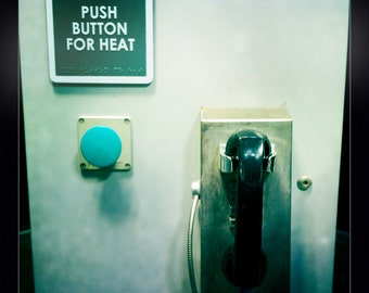 Push button for heat