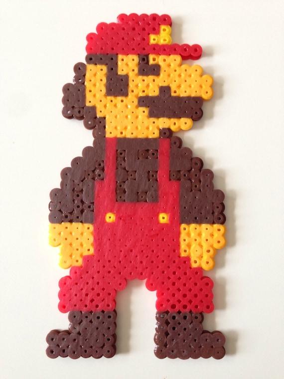 Mario Sprite From Nes Super Mario Bros Fuse Bead Pixel Art
