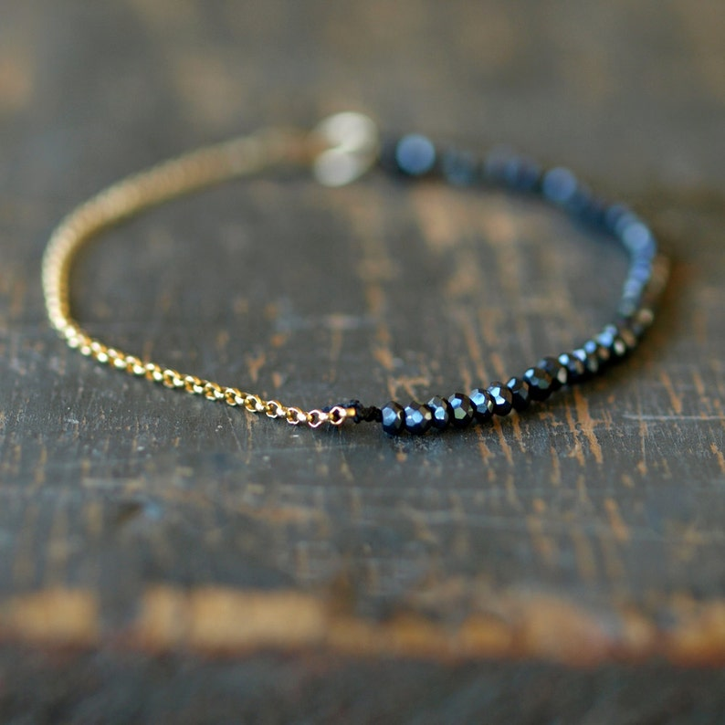 Morse Code Bracelet 14k Gold Plated Beads on Silk Cord Secret Message Stay Foolish Bracelet Gift Jewelry for Her