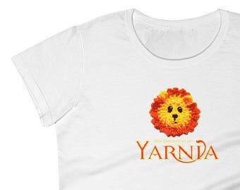 Chronicles of Yarnia: Fun Novelty Shirt For Knitters, Crocheters & Lovers of Yarn