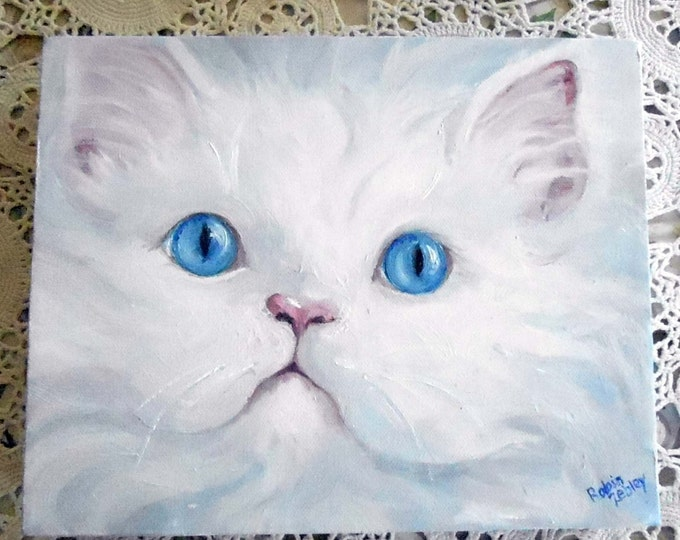 Cat Painting Custom Portrait, Pet Portraits, Custom Portrait Paintings Home fall