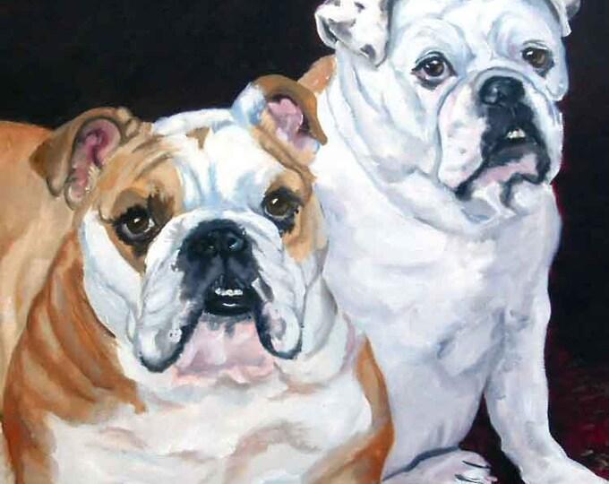 Pet Memorial Portrait,  Oil Painting on Canvas, Pet Loss Dog Memorial Portrait, Custom Pet Portrait, Cat Portrait, Illustration 11 x 14