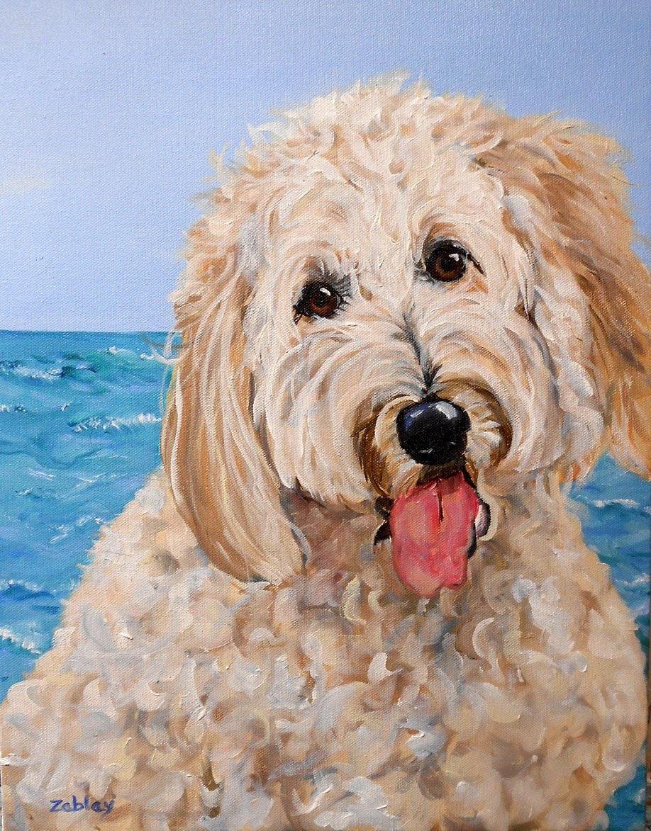 pet portraits in oil
