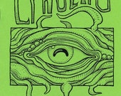 Items similar to CTHULHU COLORING BOOK, Lovecraft monster art zine ...
