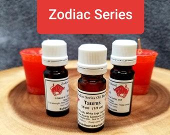 TAURUS Herbal Oil Blend --- 10 ml - 1/3 oz --- Eclipse Gemstones ZODIAC SERIES --- Handcrafted with Herbs and Gemstones