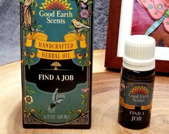 FIND A JOB Herbal Oil --- 10 ML --- --- by SoulSticks