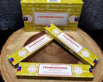 1 Box FRANKINCENSE Incense Sticks --- 15 g (grams) --- Satya Sai Baba
