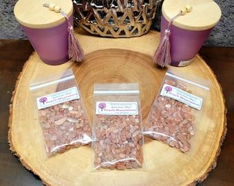 PEACH MOONSTONE Gemstone Chips --- 2 oz. Bag  (60+ Grams) --- Polished / Tumbled--- Grade A --- (gemstone chips)