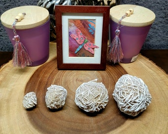 """DESERT ROSE SELENITE --- 1"""" to 3"""" --- 4 Sizes Available ! --- Natural / Rough --- Grade A"""