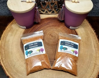 CEDAR and CINNAMON Powder --- All Natural --- 1 oz --- Incense / Offering --- Purification / Power / Blessings / Protection