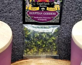 EGYPTIAN GODDESS Resin Incense --- Herb --- 1 Ounce --- By SoulSticks
