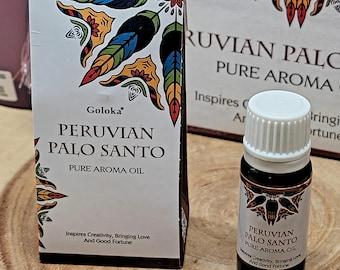 Goloka PERUVIAN PALO SANTO Fragrance Oil --- 10 ml --- by Goloka