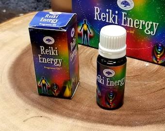REIKI ENERGY Fragrance Oil --- 10 ml --- by Green Tree --- ( greentree )