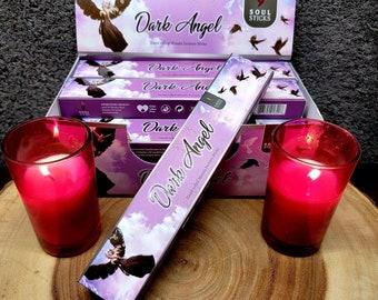DARK ANGEL Incense Sticks --- Hand Rolled Masala ---  15 gram package --- by SoulSticks