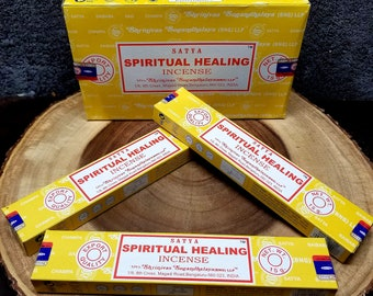 1 Box SPIRITUAL HEALING Incense Sticks --- 15 g (grams) --- Satya Sai Baba