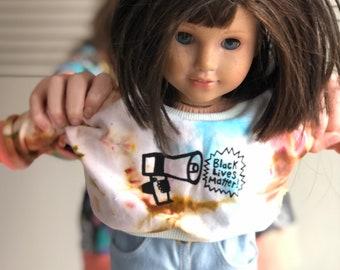American Girl Doll Black Lives Matter Sweatshirt