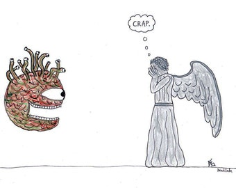 Beholder vs Weeping Angel