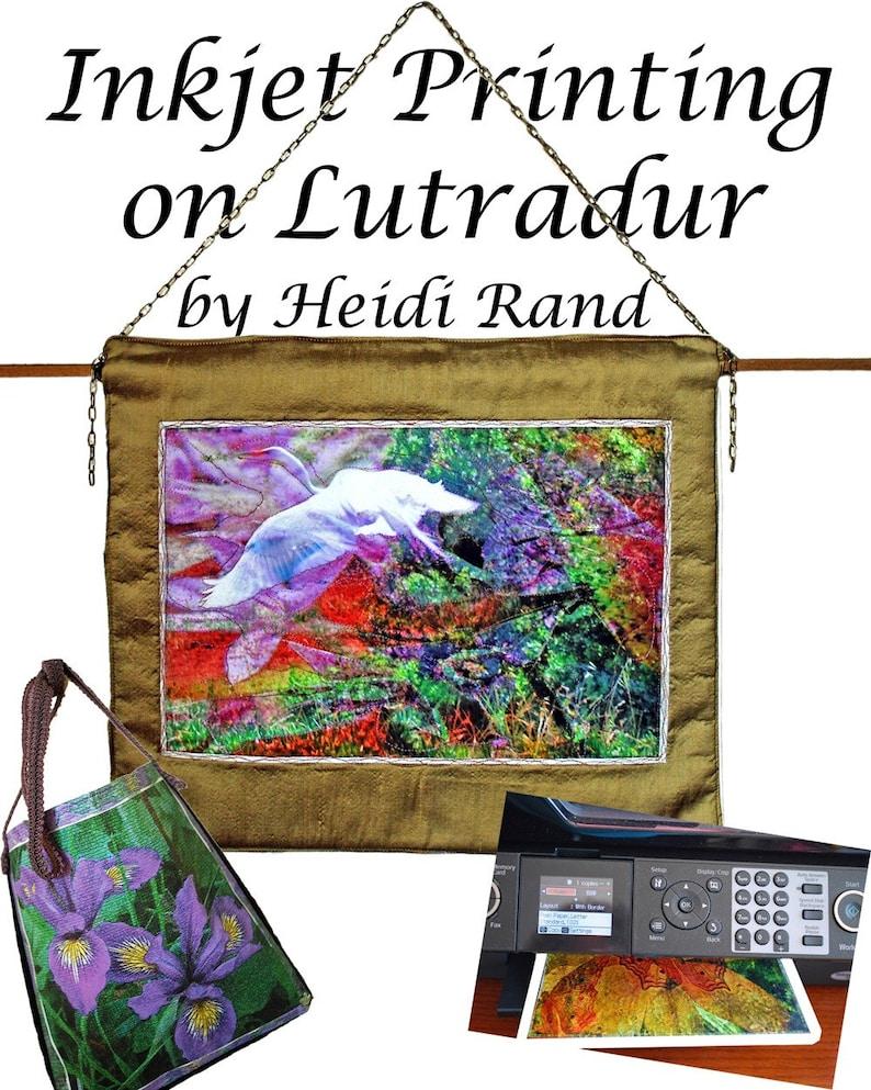 Inkjet Printing on Lutradur Ebook image 0