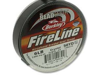 SALE Berkley FireLine Advanced Technology Braided Bead Thread Sold Per Spool