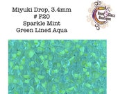 Miyuki Drop 3.4mm, Japanese Drop Seed Bead, approximately 10-12 grams, CHOOSE YOUR COLOR - Group 3