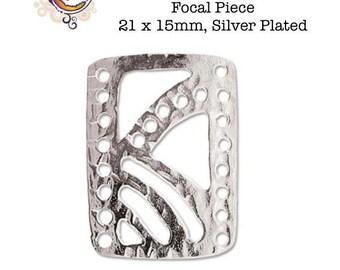 6Pcs Chandelier Earring Findings 7+2 multi trou Connecteur Pendentif composant