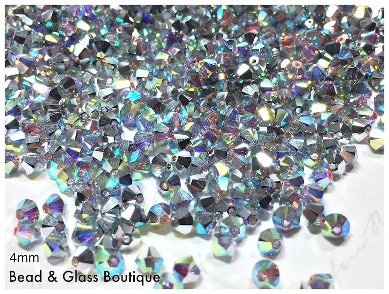 a96eec967 Swarovski Crystal Bicone Bead 5328 Crystal CAL AB Special | Etsy