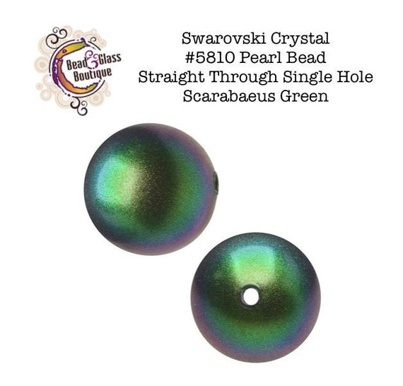 #5810 Beads 3mm - 10mm Swarovski Crystal Round Pearls Iridescent Dark Blue