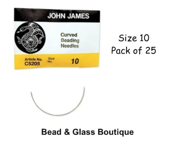 Four Assorted Sizes 10 /& 12 Beadsmith//John James English Bead Embroidery Needles