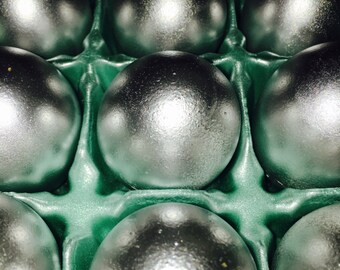 Gender Reveal Silver Confetti Eggs Cascarones 25th Anniversary Baby Shower Surprise Party Birthday Fiesta Wedding