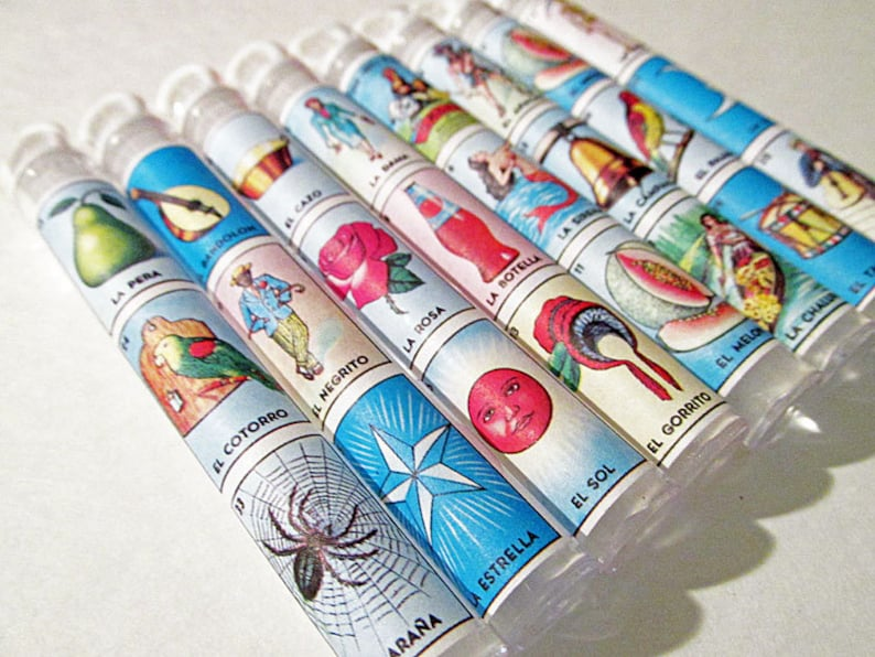 Destination Wedding Welcome Gifts Party Bag Favor Set of 25 Loteria Mexican Wedding Favors Bubble Wands