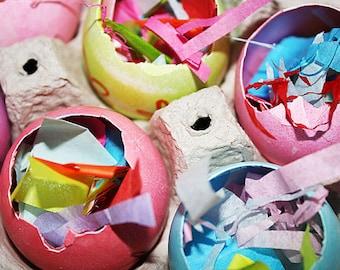 Mexican Cascarones Easter Confetti Eggs - 3 Dozen