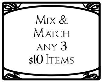 Mix and Match - earbud pouches, pocket tissue holders, insulated lip balm pouches, cord tie sets, snap pouches