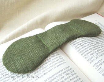 Olive Green Book Weight