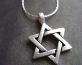 SALE - Star of David necklace