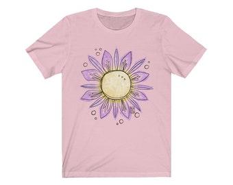 Unisex Sunshine Bloom Jersey Short Sleeve Tee
