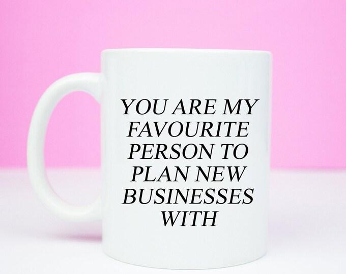 Friend to plan new businesses with mug, girl boss ideas, friendship, business, girlboss