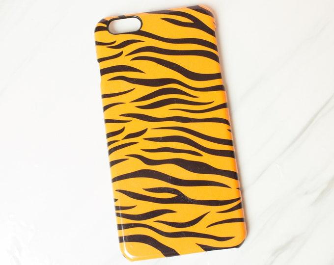 Tiger print phone case, iphone