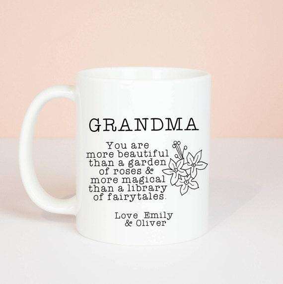 Personalised Nan/Grandma/Nanny/Nana etc mug, you are beautiful and magical and personalised with your name, lovely mug