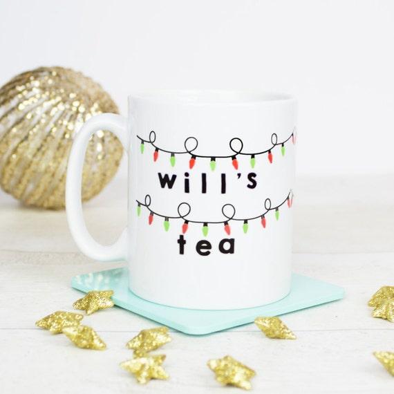 Stranger things inspired gift mug