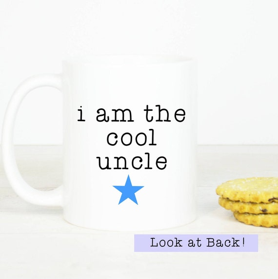 Uncle mug, personalised cool uncle mug, great gift for Uncles, personalise with name, funny uncle mug
