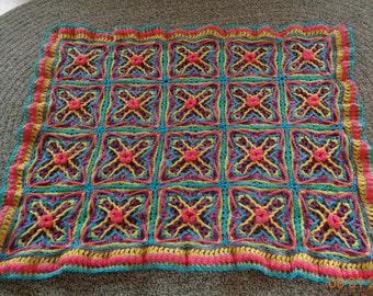 CROCHET-ALONG #3 afghan,throw,lapghan,blanket,coverlet