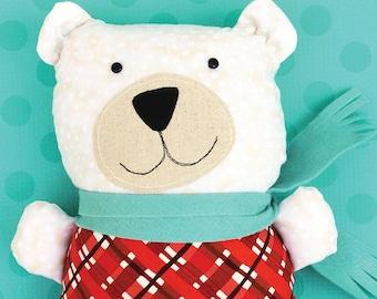 Barry Cold Polar Bear Softie PDF Sewing Pattern